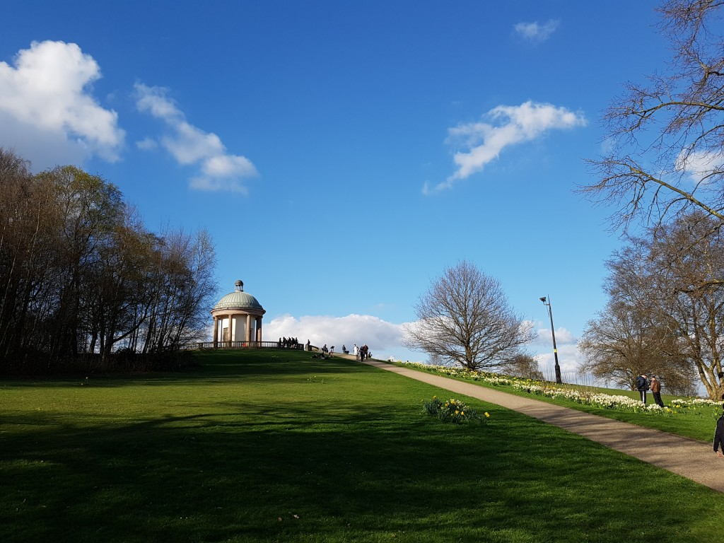 Temple on the hill - Heaton Park